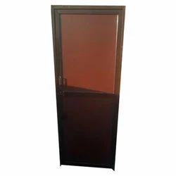 Aluminum Powder Coated Bathroom Door