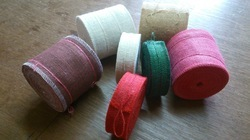 Coloured Jute Ribbons