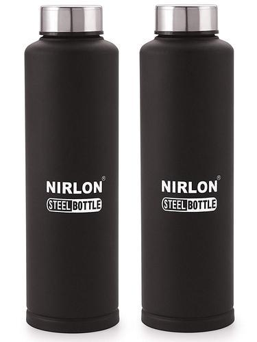 Steel Bottle Soft Touch Black Colour Amp Vagariya Pan