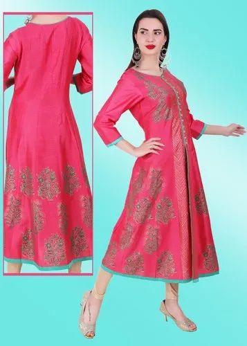 Cotton Anarkali Kurti for Ladies