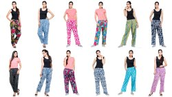 Women Cotton Printed Pant/Trouser