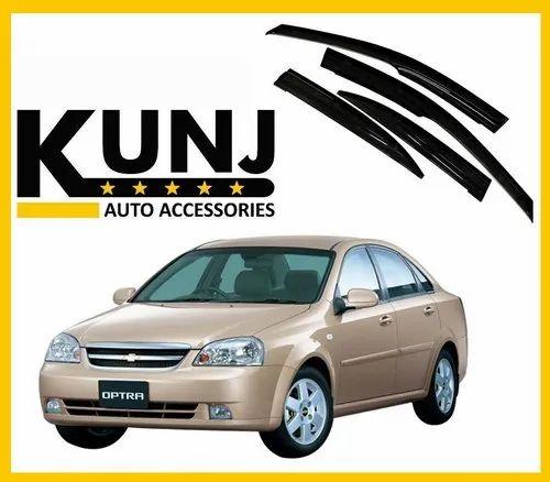 Kunj Autotech Smoke Chevrolet Optra Car Door Visor Id 22372669155