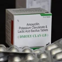 Amoxicillin Potassium Clavulanate And Lactic Acid Bacillus Tablets