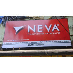 Backlit Display Sign Board