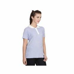 Blue Ladies T Shirts