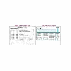 Online Survey OMR Sheets