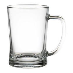 Glass Plan Beer Mug