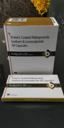 Enteric Coated Rabeprazole Sodium And Levosulpiride SR Capsules