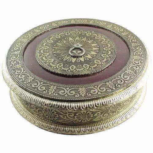 Round Antique Jewellery Box Antique Jewellery Box Bajrang