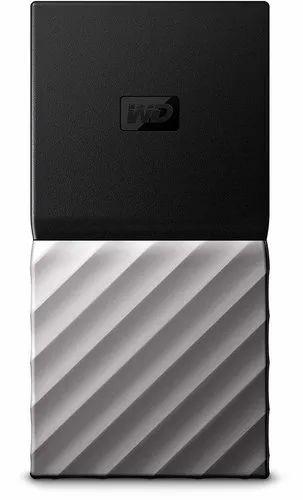 Digital My Passport SSD 256GB Hard Disk Drive, Packaging