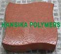 Wave Square Rubber Paver Mould