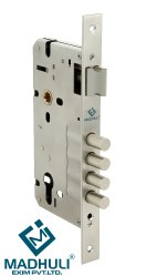 Stainless Steel 4 Bullets 60x85 Mortise Lock Body Life Time Guaranteed