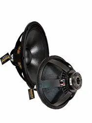 Aluminium Black Dasska DX 18100N18 INCH DJ Speaker 1300W, Rms- 1300,Peak -2000