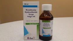 Bromhexine Hydrochloride Syrup 4mg/5ml  (100ml)