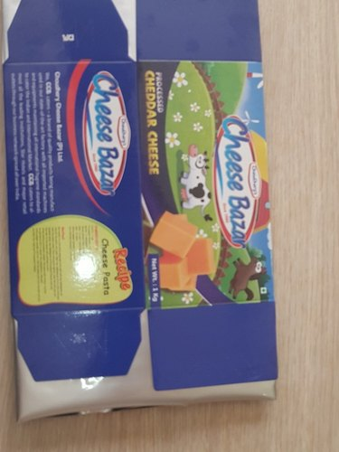 Processed Cheddar Cheese, Packaging Type: Box, Pack Size: 1 Kg