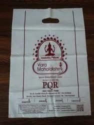 Bio Plastic Printed Compostable D Cut Shopping Bags, Capacity: 2 Kg