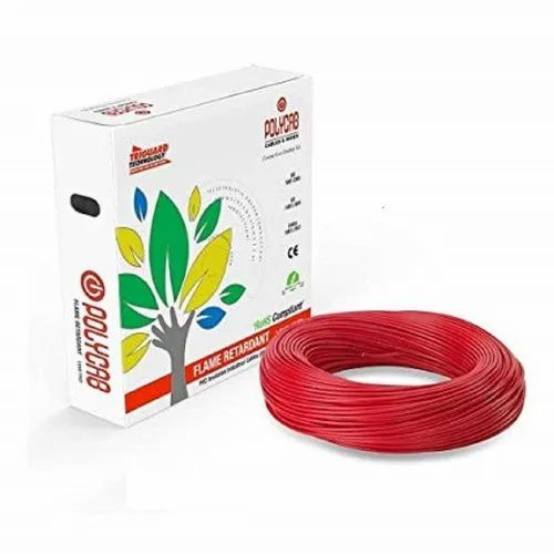 3 Core PVC Polycab Cable, For Commercial