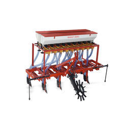 Spring Type Tractor Operated Cultivator Seed Drill