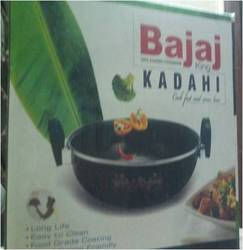 5 Stainless Steel Bajaj Kadhai, For Kitchen, Size: Standard