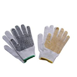 Cotton Gloves Non Slip Dots