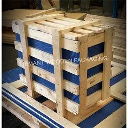 Wood Square,Rectangular Export Wooden Crates, Capacity: 150-220 Kg, for Industrial