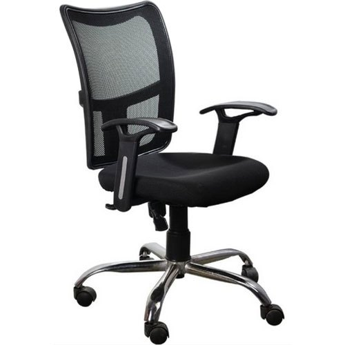 Pleasant Arm Included Black Mesh Office Chair Home Interior And Landscaping Transignezvosmurscom