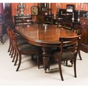Brown Oval 8 Seater Dining Table Set, For Home