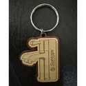 Promotional Wooden Keychain