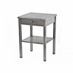 Stainless Steel Bedside Table