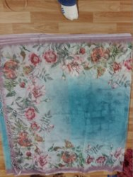 Organza Digital Printed Silk Saree