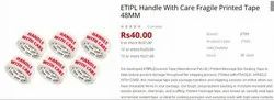 Handle with Care Fragile Printed Tape 48MM