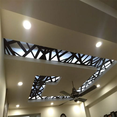 Pop With Mdf False Ceiling In Sector 63 Noida Id