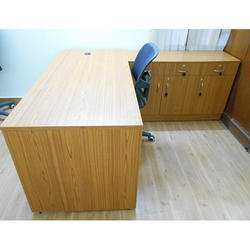 Wooden Office Manager Table