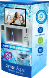 Water Vending Machine- water ATM
