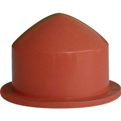 Shiv Industries Brown Conical End Silicone Rubber Printing Pad