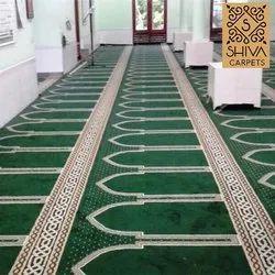 Shiva Polypropylene Mosque Runner Carpet Janamaz, Size: 4 Feet X 100 Feet Per Roll