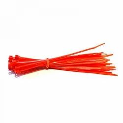 250 Mm Red Cable Ties