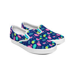Creative Sole Printed Canvas Shoes, Size: 6 to 8