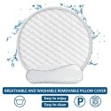 Shoppoworld Memory Foam Stripes Orthopaedic Pillow