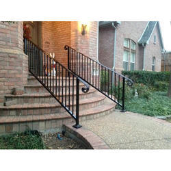 Outdoor Iron Stair Railing