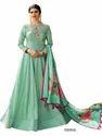 Pista Green Prachi Desai Silk Suit