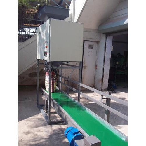 Sigma Rice Grains Filling Machine, Packaging Type: Bags