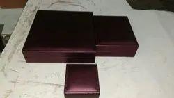 Wooden Black Lieder jewellery box