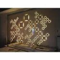 Pu 3d Wall Art, Packaging Type: Roll