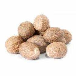 Brown Dried Nutmeg Seed