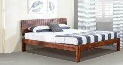 Sheesham Brown Hotel & Restaurant Furniture Bed