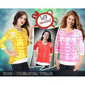 Girls Cotton 3/4th Sleeve Classic Top