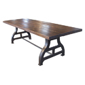 Unique Industrial Dining table Industrial Furniture