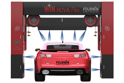 Fourwin Touchless Car Wash System With Profile Dryer ट र