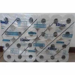 White Kimberly Clark Kleenex Tissue Roll for Bath